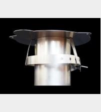 "Super C / R Adapter 3"" Prefabricated Twinwall Insulated Flue UK"