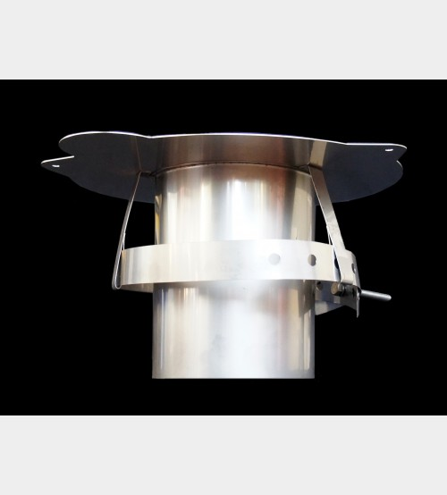 "Super C / R Adapter 4"" Prefabricated Twinwall Insulated Flue UK"