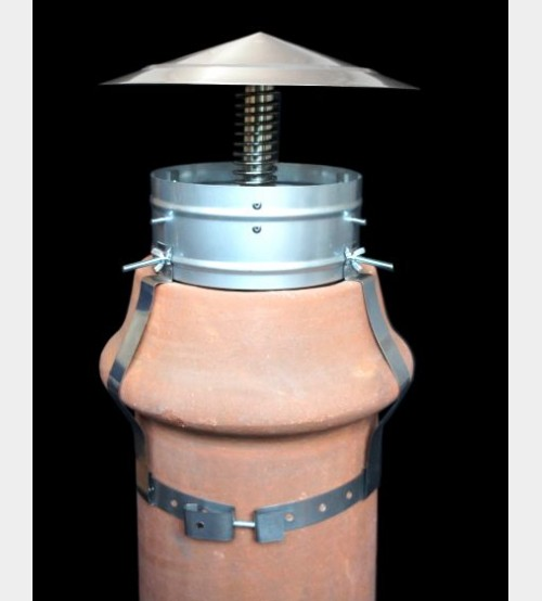 """Chimney Control 8"""" Stainless Steel UK"""