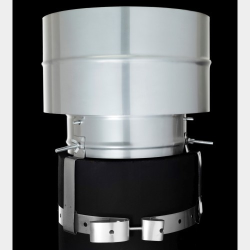 Static Anti Downdraught Cowl Only 163 49 95 163 5 Delivery